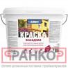 Краска фасадная PROREMONTT белая 3 кг