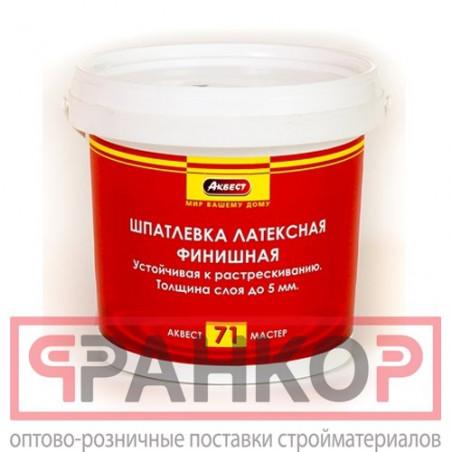 Шпатлёвка фасадная водостойкая FASADE PASTA 3 кг