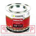 Эмаль ПФ-115 Лакра Бел. мат. 2кг