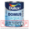 DULUX DOMUS AQUA краска для деревянных фасадов, на водной основе, п мат, белая, Баз BW (1л)