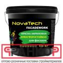 Краска NovaTech Facadework для наружных работ - 3 кг