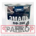 Эмаль ПФ-266 Proremontt красно-коричневая 20 кг