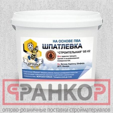 Герметик  акриловый (мастика) паропроницаемый белый 7 кг