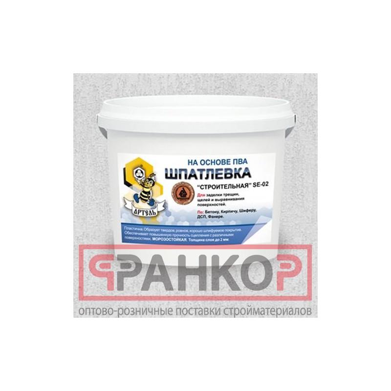 Герметик  акриловый (мастика) паропроницаемый белый 0,9 кг