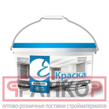 """Эмаль ВД-АК-1179 по дереву """"Профи"""" супербелая с шелковистым блеком 10 кг"""
