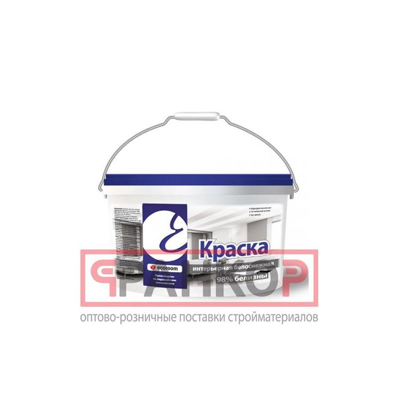 Краска для потолков и стен iQ103 сияющая белизна 0,8 л
