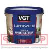 VGT Краска ВД-АК-2180 интерьерная база А супербелая (влагостойкая ) 1,5 кг