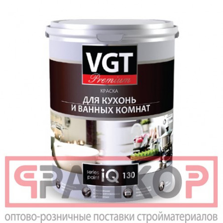 Краска ВД-АК-1180 для нар/внутр работ моющаяся белоснежная 3 кг