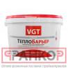 VGT Краска ВД-АК-1180 теплоизоляционная ТеплоБарьер, 2л