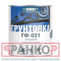 Грунт ГФ-021 PROREMONTT серый 18кг