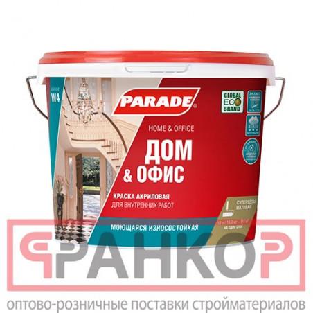 Краска ВД-АК-2180 для потолков белоснежная 3 кг