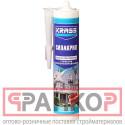 Герметик силиконизированный KRASS (Силакрил) Белый 300мл Польша