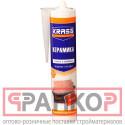 Клей KRASS ЖГ для пластика и плитки Особопрочный монтаж (Керамика) Белый 300мл Нидерланды