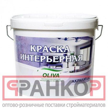 Лак акриловый для нар/внутр работ матовый бесцветный 0,9 кг