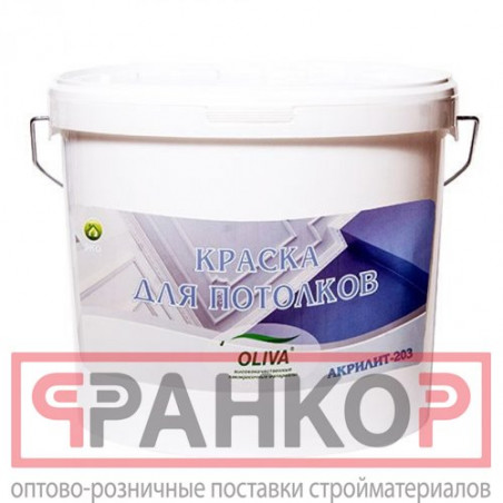 Краска ВД-АК-2180 интерьерная белоснежная влагостойкая 3 кг