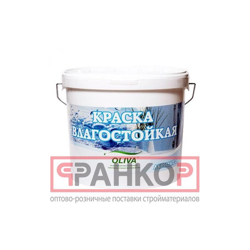 Краска ВД-АК-2180 интерьерная белоснежная влагостойкая 1,5 кг