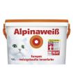 Краска водно-дисперсионная для внутренних работ Alpina AlpinaWeiss / АльпинаВайсс белая, 10 л