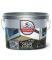 Краска фасадная акриловая Profilux Professional Faсade & Socle глубокоматовая 13 кг