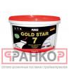 ПУФАС GOLD STAR 7 Краска акрилатная супербелая мат. мороз. - 1,33 кг