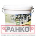 Шпатлевка Акрилит-406 фасадная белая 33 л
