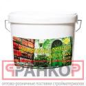 Шпатлевка Акрилит-406 для подъездов зеленая 3 л
