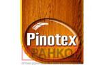 Pinotex защита дерева