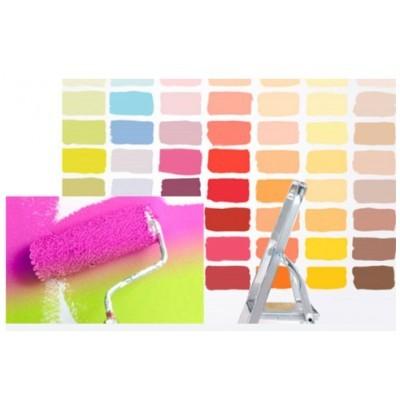 Как покрасить потолок краской без разводов?