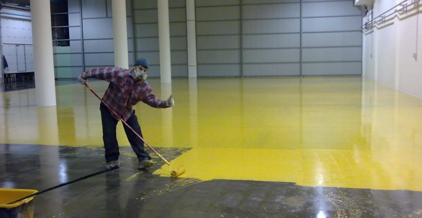 Специальные краски для бетона