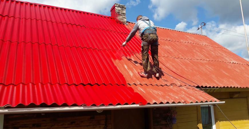 Покраска крыши – рекомендации и нюансы